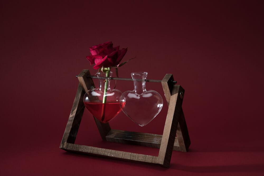 Parfum mit Herz